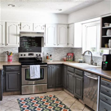 two tone kitchen cabinet doors 35 two tone kitchen cabinets to reinspire your favorite