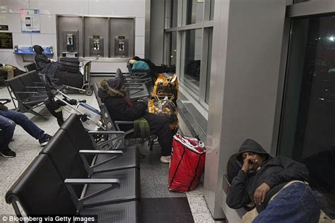 where do homeless people go to the bathroom video shows the homeless residents of new york s laguardia
