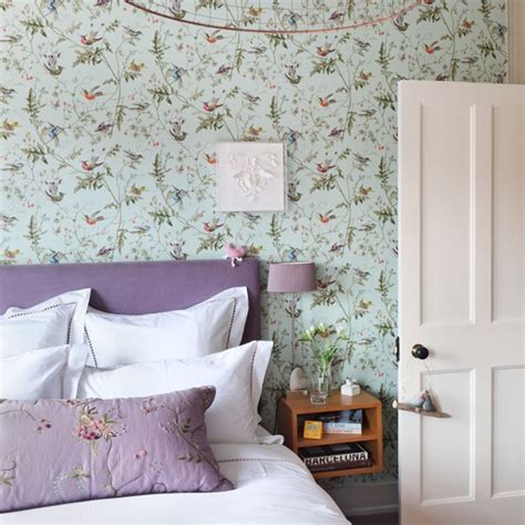green and purple bedroom 30 best diy wallpaper designs for bedrooms uk 2015