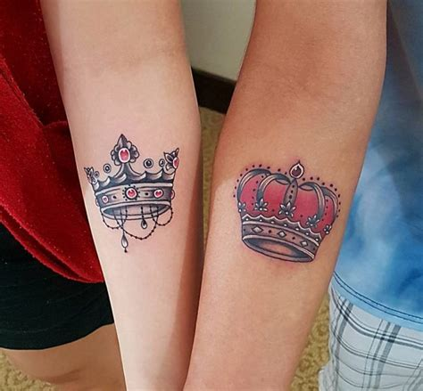 matching crown tattoos for couples 80 noble crown designs treat yourself like royalty