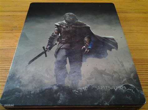 Xbox One Shadow Of Mordor Special Edition middle earth shadow of mordor special steelbook edition