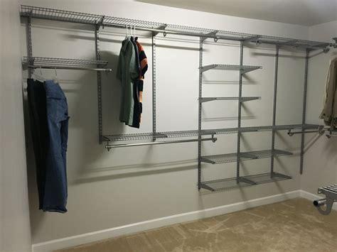 rubbermaid configurations homefree closet system ideas