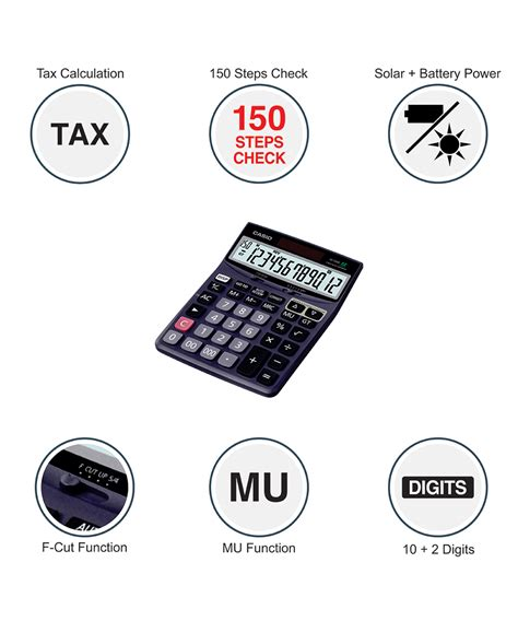 Casio Desktop Dj 120d casio dj 120d desktop calculator buy dj 120d at