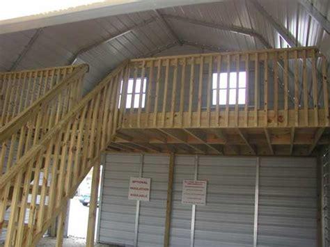 Carport Building Plans by Put A Loft In Your Metal Building