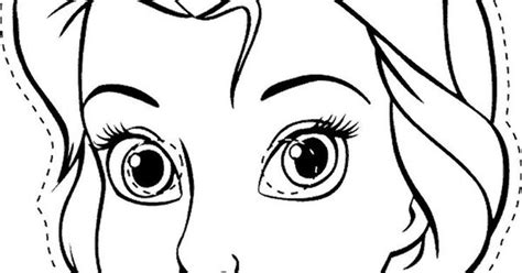 elsa mask coloring pages colour in elsa and wear the print as a mask click on the