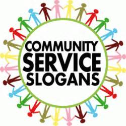 Community Service Service Mottos And Quotes Quotesgram