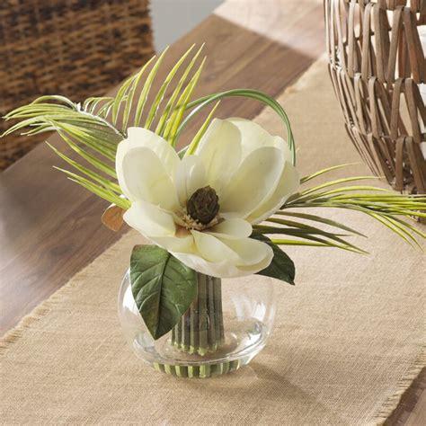 beachcrest home tropical magnolia floral arrangements