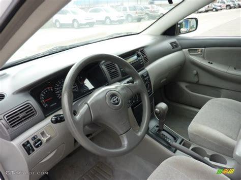 light gray interior 2004 toyota corolla ce photo 50582494