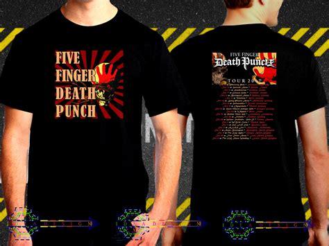 five finger death punch uk tour five finger death punch tour date 2017 black concert t