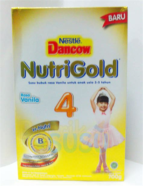 Lactogrow 4 Vanila 750g dancow nutrigold 4 vanila 700g pabrik detil toko