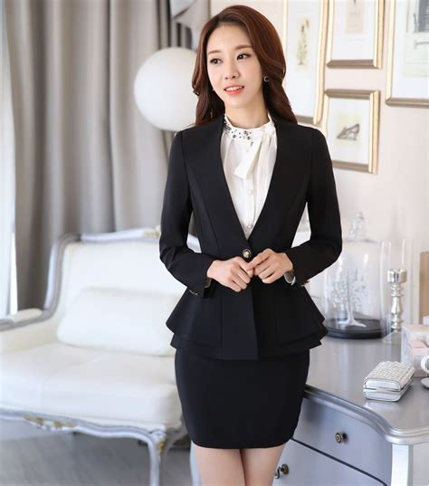 styles of work suites new arrival 2016 professional formal blazer women business