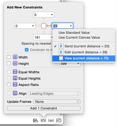 xcode change layout using size classes to design adaptable universal ios 9