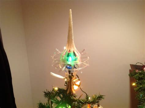 merry glow rotating christmas tree topper vintage merry glow tree topper top light sputnik trees tops and vintage