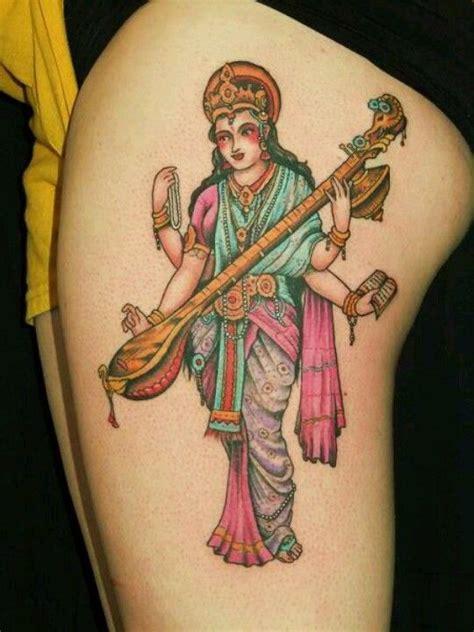 saraswati tattoos and