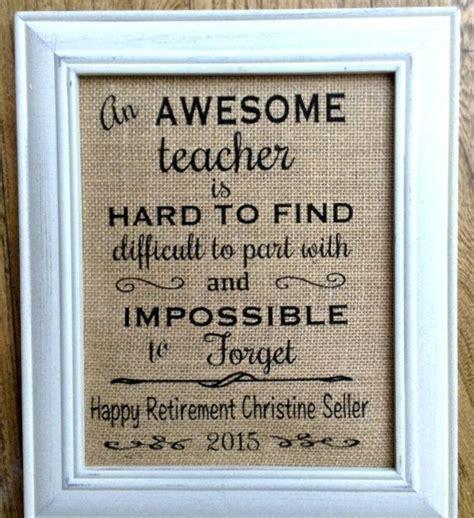 best 25 teacher retirement gifts ideas on pinterest