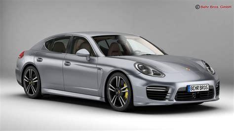 Buy Porsche Panamera by Porsche Panamera Turbo S 2014 3d Model Buy Porsche