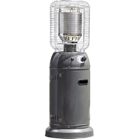 bunnings patio heaters fiammetta 126 x 46 x 46cm charcoal outdoor patio heater