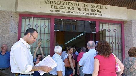 oficina de hacienda sevilla una decena de municipios de la provincia tienen m 225 s