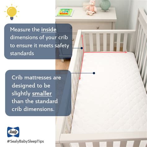 crib mattress dimensions dimensions of a baby crib mattress child mattress size