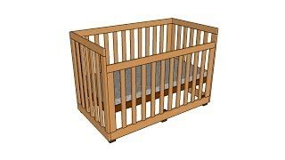How To Build A Baby Crib In Minecraft Woodworking Minecraft Baby Crib