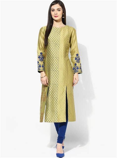 front slit a line kurti salwar kameez marking cutting latest designer kurtis with different cut types kurti