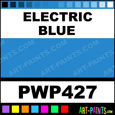 electric blue metal paints and metallic paints pwp427 electric blue paint electric