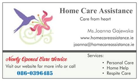 home care assistance limerick child care elderly care
