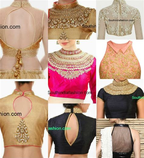 blouse pattern in pinterest classy high neck blouse designs 10 trendy patterns