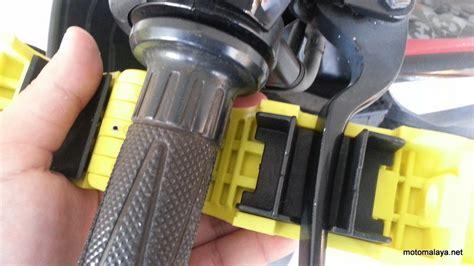 Grip Sepeda Motor Grip Lock Kunci Pengaman Stang Motor Deals For Only Rp118