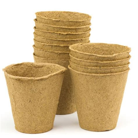 Paper Plant Pots - biodegradable plant pots growing containers for plants