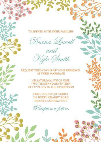 Wedding Invitation Template 215 Best Wedding Invitation Templates Free Images On Pinterest Ideas Wedding E Invite Template