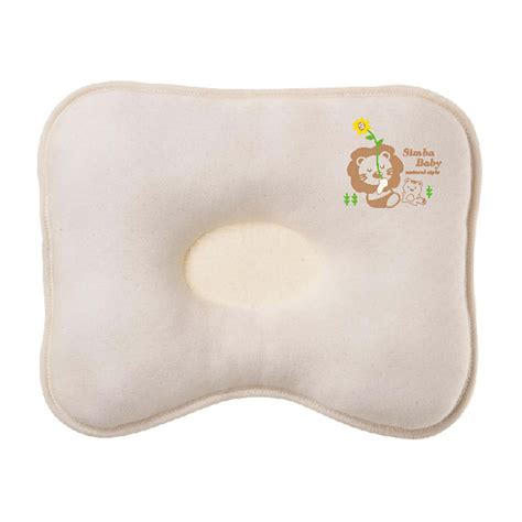 Baby Pillow Breathable by Simba S5016 Organic Breathable Pillow Beige Baby Baby