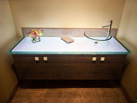 glass countertop for bathroom with personality cbd glass