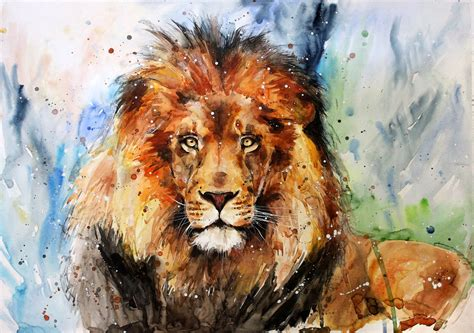 lion by elenashved on deviantart