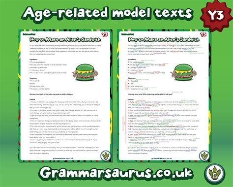 new year information ks2 new year 3 model text grammarsaurus
