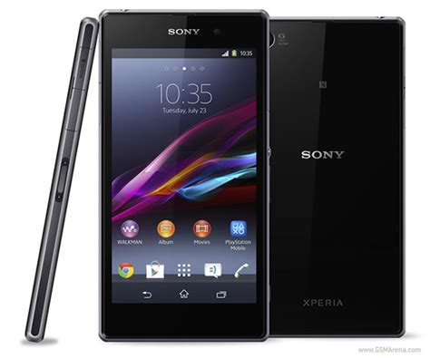 Hp Sony Xperia Z Di Black Market sony launches the xperia z1 smartphone in india gsmarena