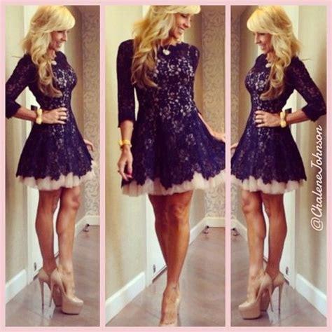 dress lace dress lace black dress shoes bag navy