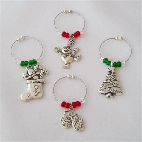 buy handmade wine glass charms 101 wine
