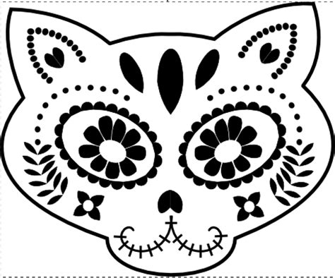 best photos of day of the dead skull stencil day of the