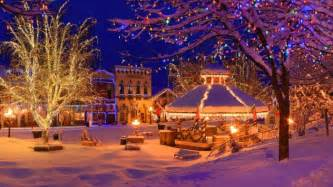 christmas towns in washington