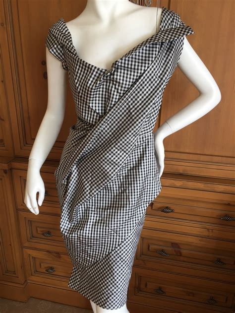 Dress Of The Day Tocca Vivienne Dress by Vivienne Westwood Gold Label Silk Satin Gingham Quot