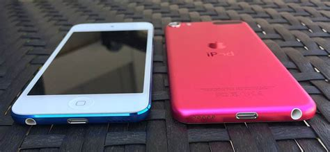 Ipod Touch 6th 16 Gb Blue Mulus Like New a closer look at apple s new ipod touch colors and
