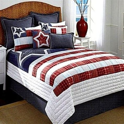 patriotic comforter king quilt sets king quilts and red white blue on pinterest