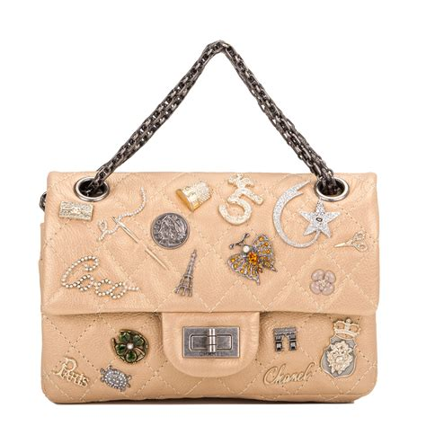 chanel gold reissue 2 55 lucky charm bag world s best