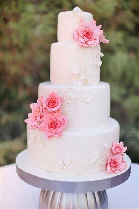 Pretty Pink Wedding Cakes We Adore Topweddingsites M