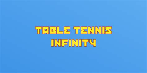 infinity for nintendo 3ds table tennis infinity new nintendo 3ds software