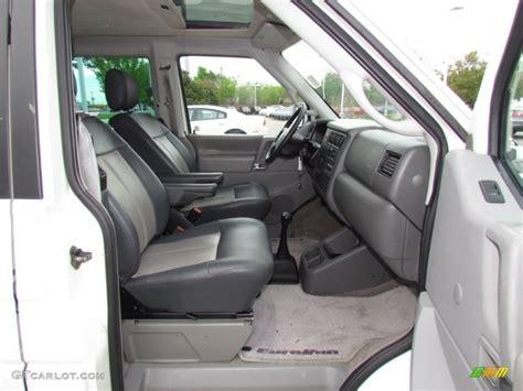 volkswagen eurovan cer interior 2002 volkswagen eurovan gls interior photos gtcarlot com
