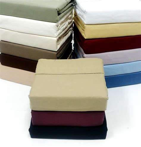 Luxury Bed Sheet Sets 21 Quot Pocket 300 Thread Count Solid Cotton Luxury Bed Sheet Sets Blowoutbedding