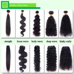 different types of hair weaves quality hair accessories