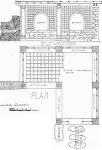 Pergola In Plan by 187 Download Pergola Layout Plans Pdf Pine Bookcase